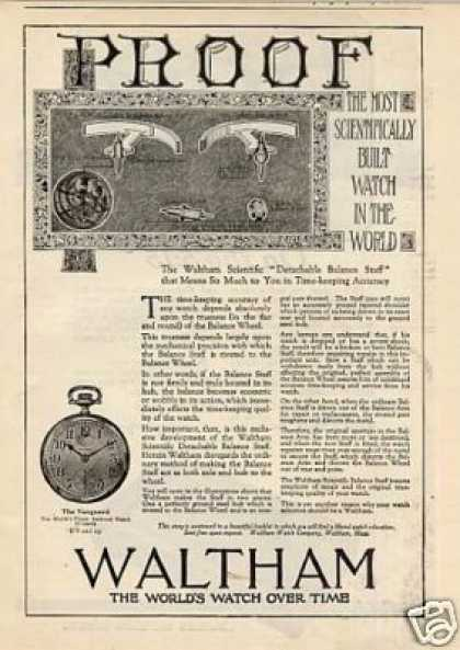 Waltham Vanguard Pocket Watch (1920)