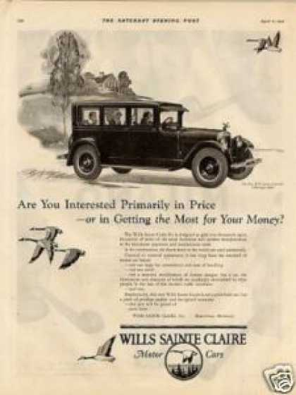 Wills Sainte Claire Six Sedan (1925)
