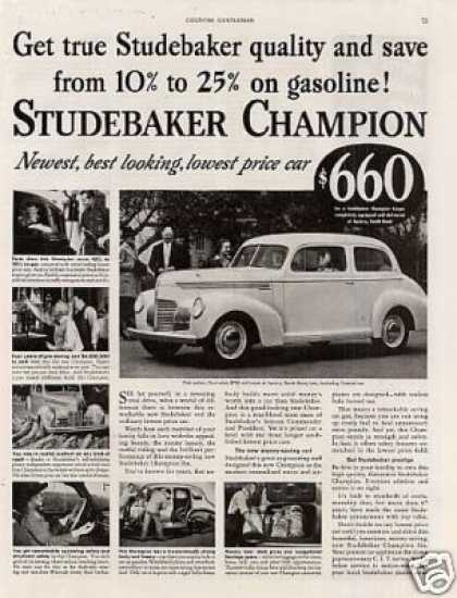 Studebaker Champion Car (1939)