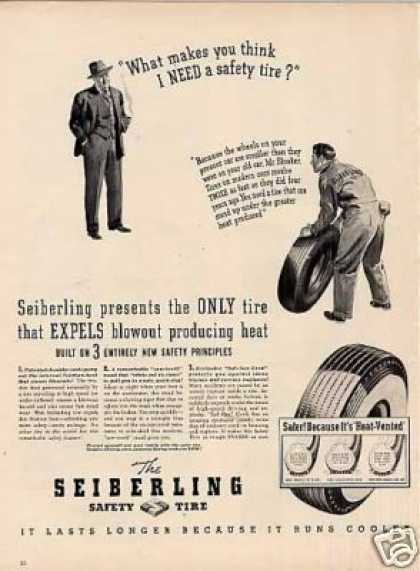 Seiberling Tires (1940)