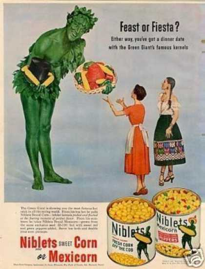 Green Giant Niblets Corn (1952)