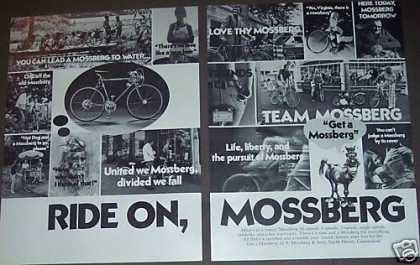 Mossberg Bicycles 10 5 3 Speed Bike 2pg Photo (1973)