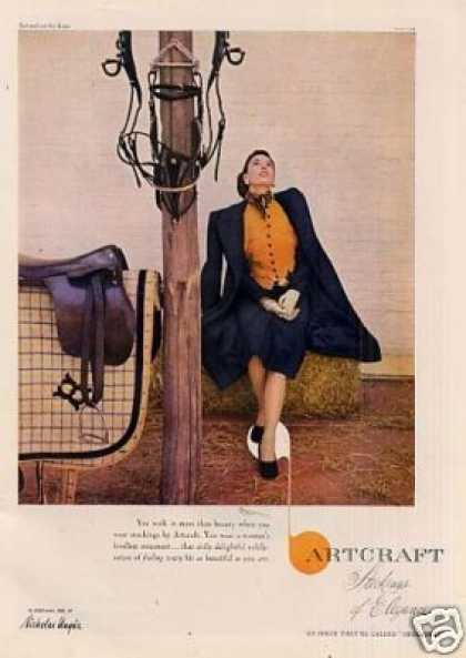 Artcraft Stockings (1946)
