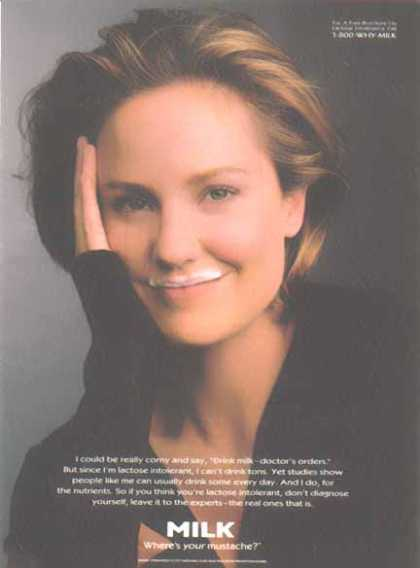 Sherry Stringfield – GOT MILK? (1997)