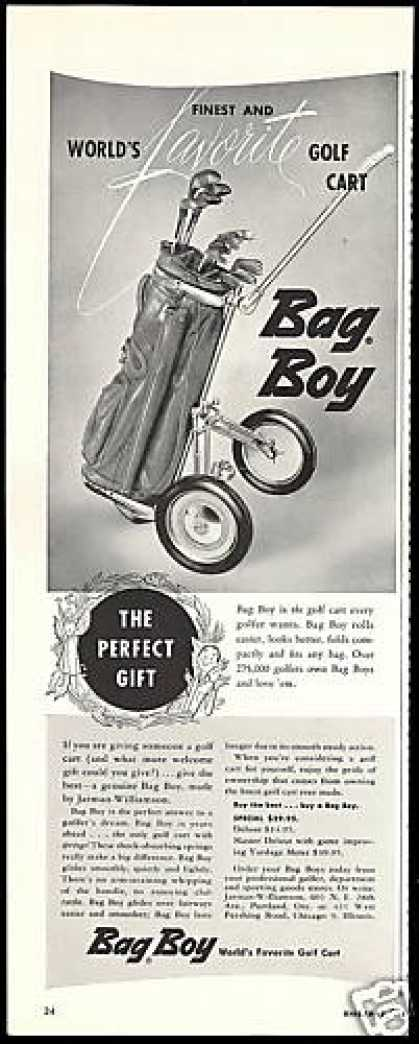 Bag Boy Golf Cart World's Finest Vintage (1954)