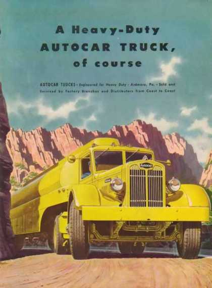 Autocar Trucks – Fuel Tanker – Sold (1947)