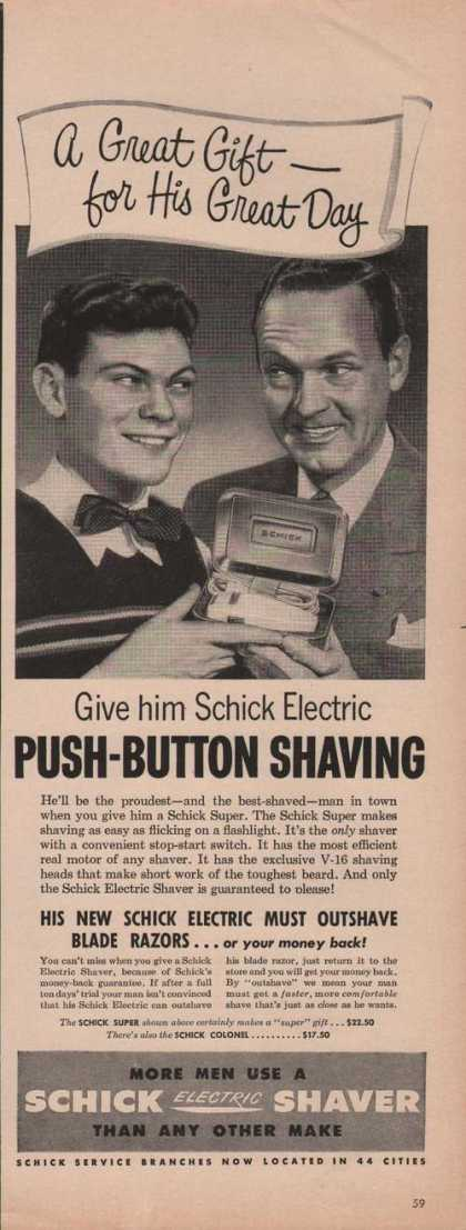 Schick Electric Shaver (1950)
