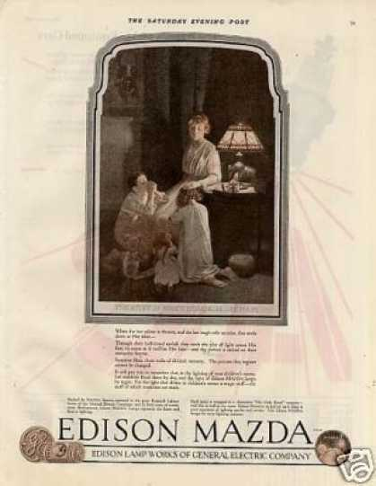 Edison Mazda Lamps Color (1920)