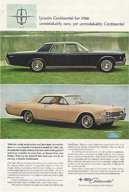 Ford's Lincoln (1965)