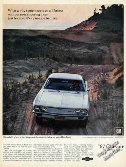 Chevrolet Corvair 500 Sport Coupe Nice Photo (1967)