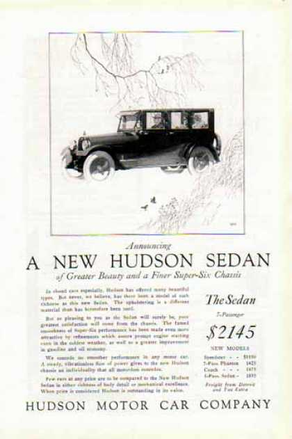 Hudson Motor Car Company – The Sedan (1924)