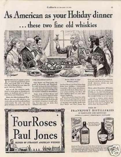 Four Roses & Paul Jones Whiskies (1934)