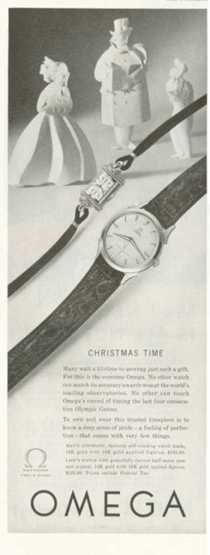 Omega Ladys Men Automatic Wrist Watch (1952)