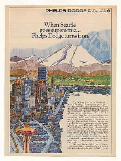 Seattle Lee Albertson art Phelps Dodge (1969)