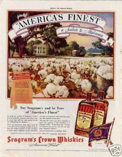 Seagram's Crown Whiskey (1939)