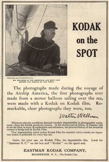 Kodak – Kodak on the Spot (1911)