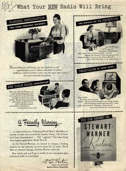 Stewart-Warner Corporation's Various – What Your New Radio Will Bring (1945)