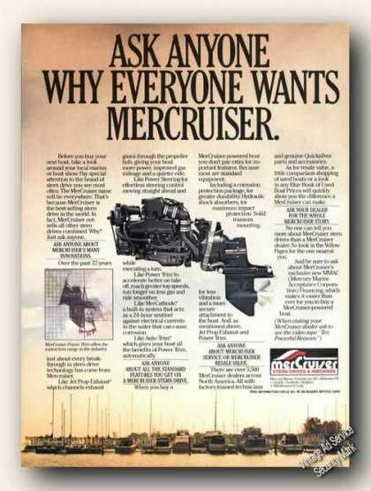 Ask Anyone Why Everyone Wants Mercruiser (1985)