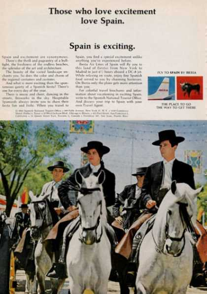 Iberia Those Who Love Excitement Love (1965)