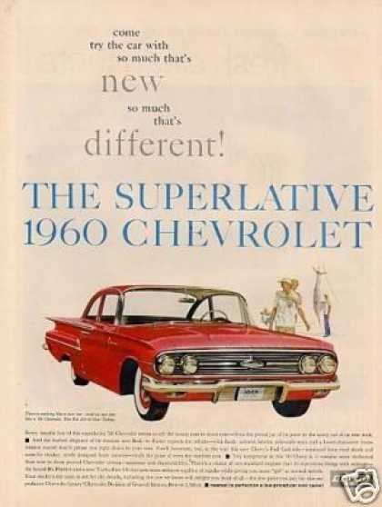 Chevrolet Bel Air 2-door Sedan (1960)