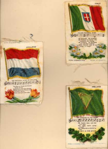 Unknown [Lorillard?]'s Zira and Nebo Cigarettes – National Flag Series – Image 6