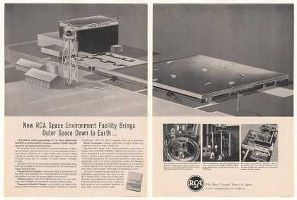 RCA Space Center Princeton NJ 2-Page (1961)