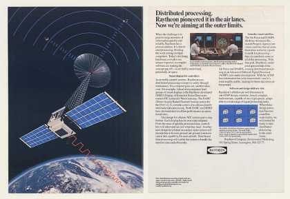 Raytheon Distributed Processing Radar Satellite (1984)