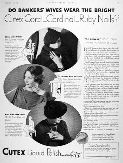 Cutex Nail Polish (1934)
