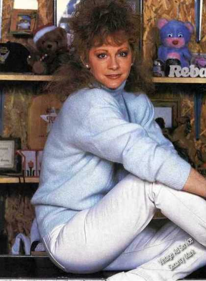 Reba Mcentire Collectible Magazine Print Photo (1989)