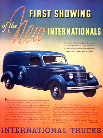 International Panel Van (1937)