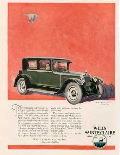 Wills Sainte Claire, USA (1925)