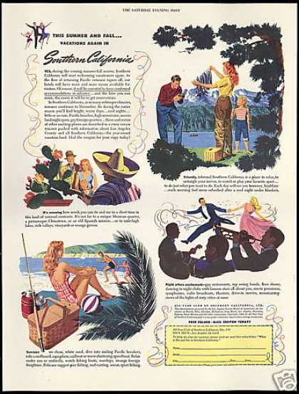 Southern California Travel All Year Club (1946)