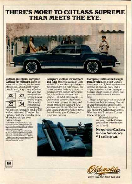 General Motor's Oldsmobile Cutlass (1980)