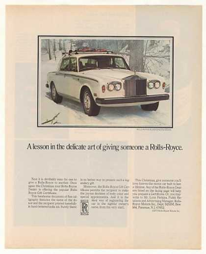 Rolls-Royce Silver Shadow Sedan Photo (1975)
