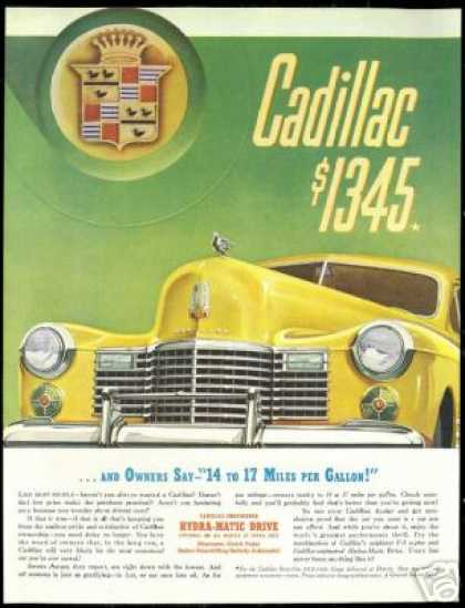 Cadillac Front End Vintage Car (1941)