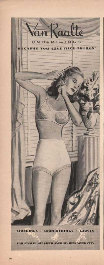 Van Raalte Undertings for Women (1941)