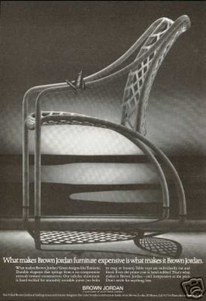 Brown Jordan Tamiami Chair Butterfly Photo (1973)