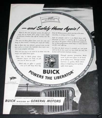 Buick, Powers the Liberator (1944)