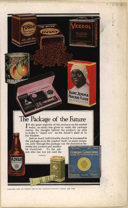 J. Walter Thompson Company's Advertising – The Package of the Future (1918)
