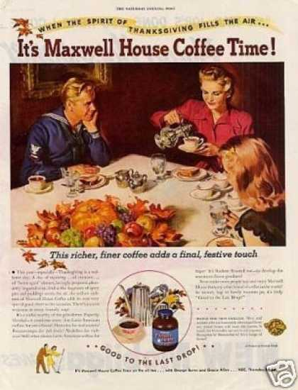 Maxwell House Coffee (1945)