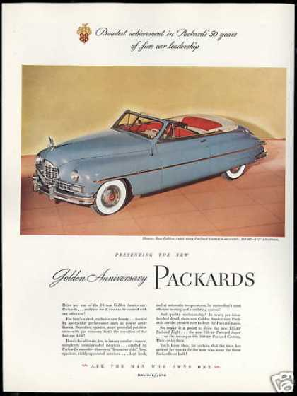 Packard Golden Anniversary Convertible Car (1949)