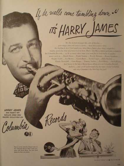 Columbia Records Harry James (1946)