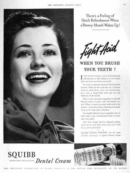 Squibb Dental Cream (1938)
