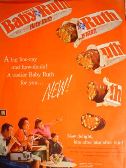 "Baby Ruth Family Theme ""A Tastier Baby Ruth for you"" (1961)"