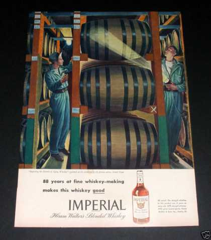 Walkers Imperial Whiskey (1946)
