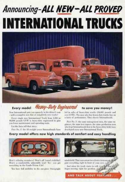 "International Trucks ""Heavy Duty Engineered"" (1950)"