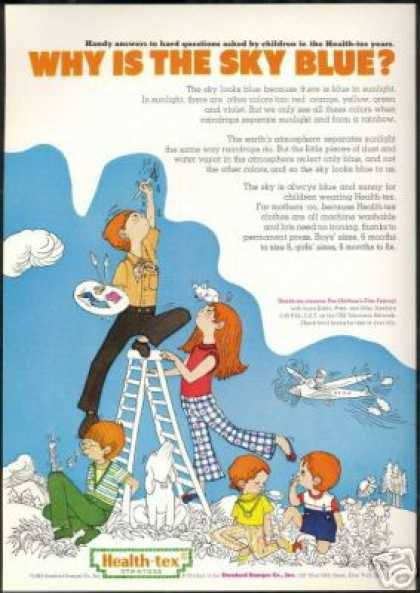 Children's Health Tex Clothes Blue Sky (1969)