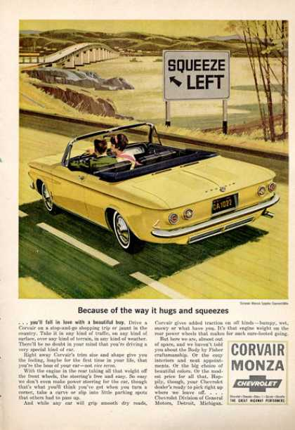 Chevy Corvair Monza Convertible (1964)