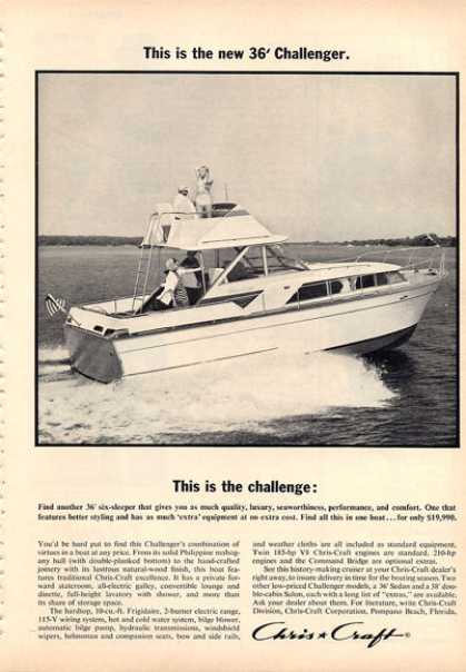 Chris Craft 36' Challenger Boat (1964)