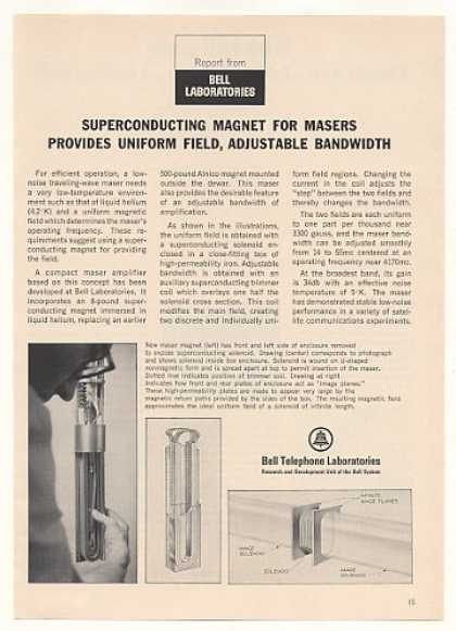 '65 Bell Telephone Labs Magnet Maser Amplifier (1965)